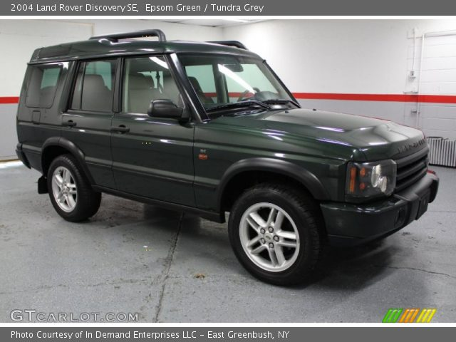 epsom green 2004 land rover discovery se tundra grey interior vehicle. Black Bedroom Furniture Sets. Home Design Ideas