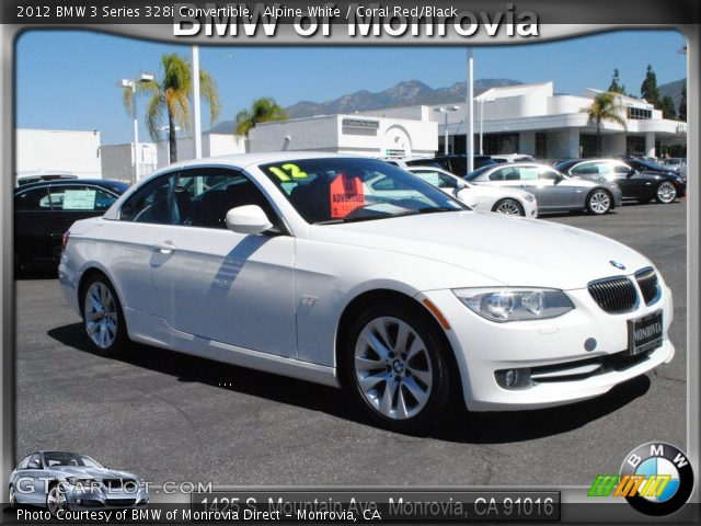 2012 BMW 3 Series 328i Convertible in Alpine White