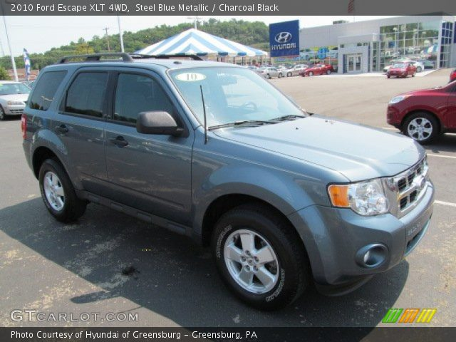 2010 ford escape xlt 4wd in steel blue metallic click to see large. Black Bedroom Furniture Sets. Home Design Ideas