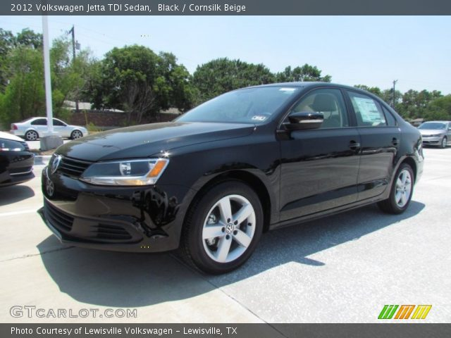 black 2012 volkswagen jetta tdi sedan cornsilk beige. Black Bedroom Furniture Sets. Home Design Ideas