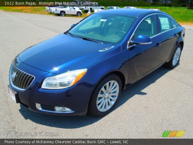 midnight blue metallic 2012 buick regal cashmere