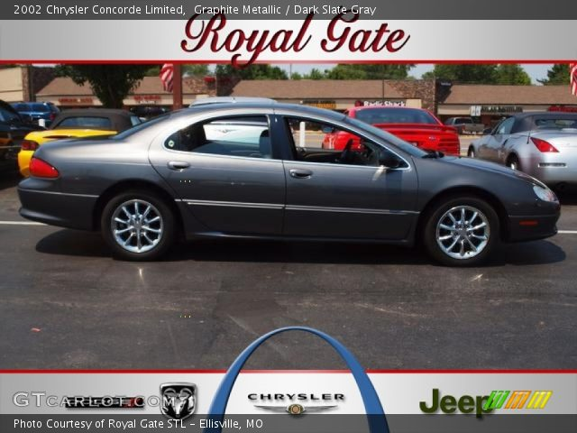 Graphite Metallic 2002 Chrysler Concorde Limited with Dark Slate Gray ...