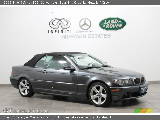 2005 BMW 3 Series 325i Convertible in Sparkling Graphite Metallic