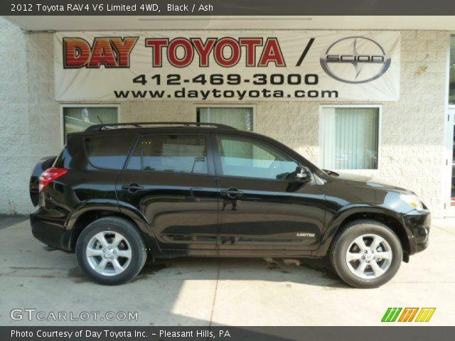 black 2012 toyota rav4 v6 limited 4wd ash interior vehicle archive 67402168. Black Bedroom Furniture Sets. Home Design Ideas