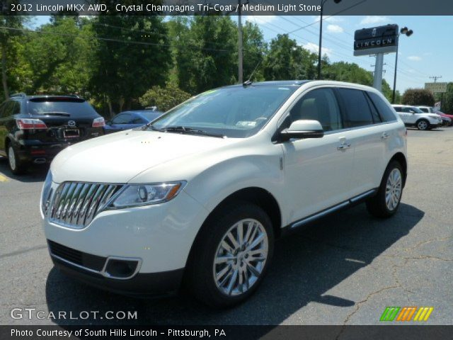 2012 Lincoln MKX AWD in Crystal Champagne Tri-Coat