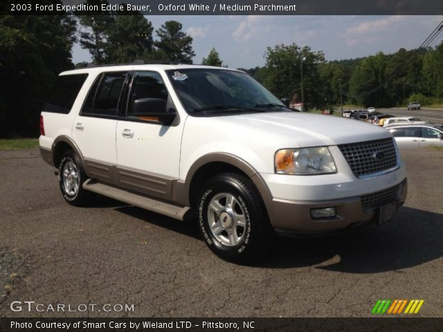 2003 ford expedition eddie bauer in oxford white click to see large. Cars Review. Best American Auto & Cars Review