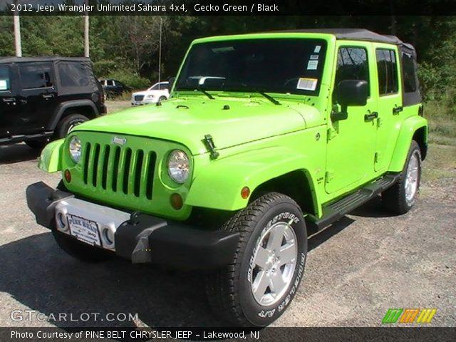 2012 jeep wrangler unlimited gecko green for autos post. Black Bedroom Furniture Sets. Home Design Ideas