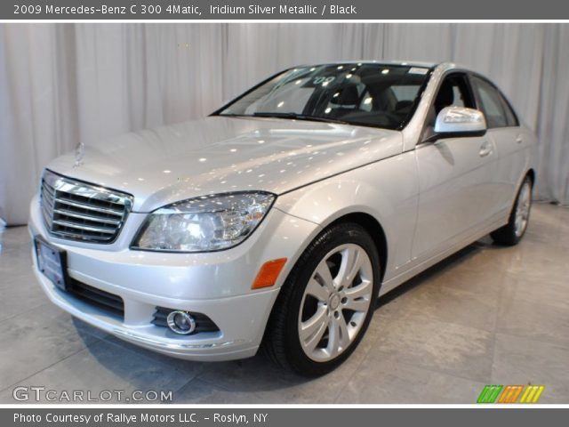 Iridium silver metallic 2009 mercedes benz c 300 4matic for 2009 mercedes benz c 300