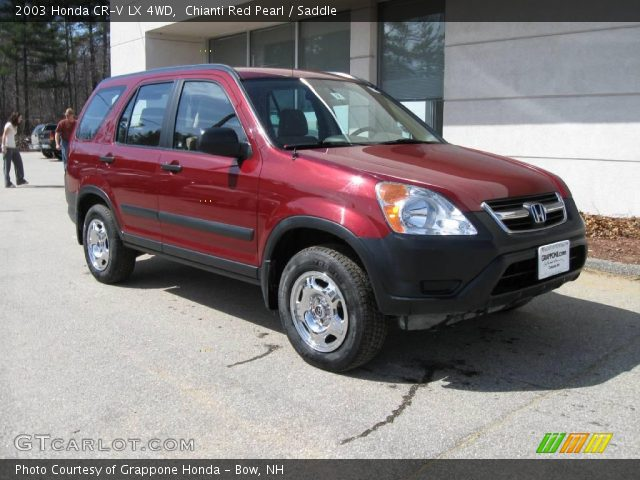 chianti red pearl 2003 honda cr v lx 4wd saddle interior vehicle archive. Black Bedroom Furniture Sets. Home Design Ideas