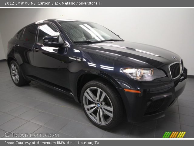 carbon black metallic 2012 bmw x6 m silverstone ii. Black Bedroom Furniture Sets. Home Design Ideas