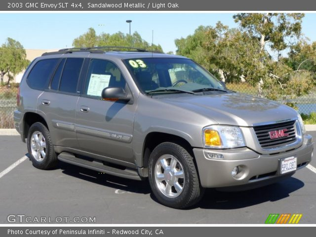 sandalwood metallic 2003 gmc envoy slt 4x4 light oak. Black Bedroom Furniture Sets. Home Design Ideas