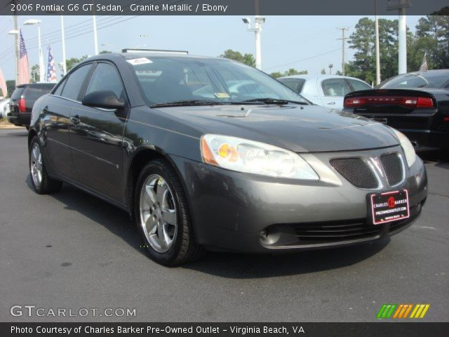 2006 pontiac g6 gt sedan in granite metallic click to see large photo. Black Bedroom Furniture Sets. Home Design Ideas