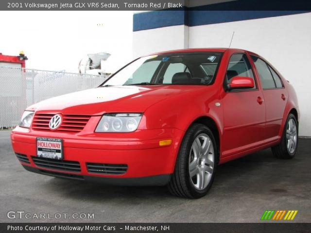 tornado red 2001 volkswagen jetta glx vr6 sedan black. Black Bedroom Furniture Sets. Home Design Ideas