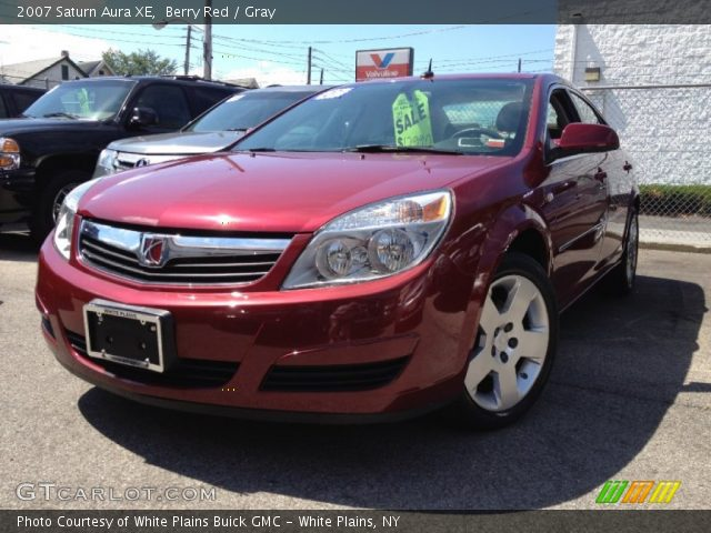 berry red 2007 saturn aura xe gray interior gtcarlot. Black Bedroom Furniture Sets. Home Design Ideas