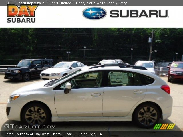 2012 Subaru Impreza 2.0i Sport Limited 5 Door in Satin White Pearl