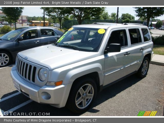 bright silver metallic 2008 jeep patriot limited 4x4. Black Bedroom Furniture Sets. Home Design Ideas