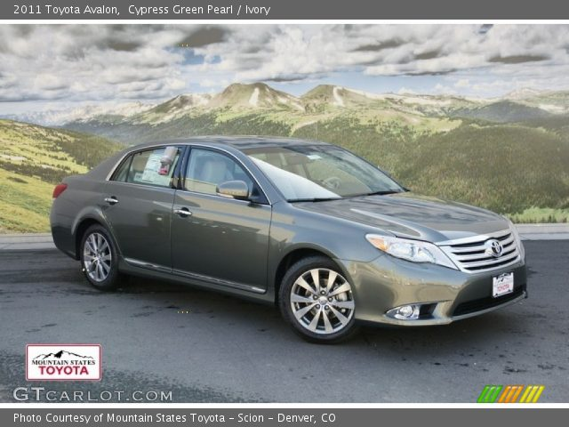 2011 Toyota Avalon  in Cypress Green Pearl