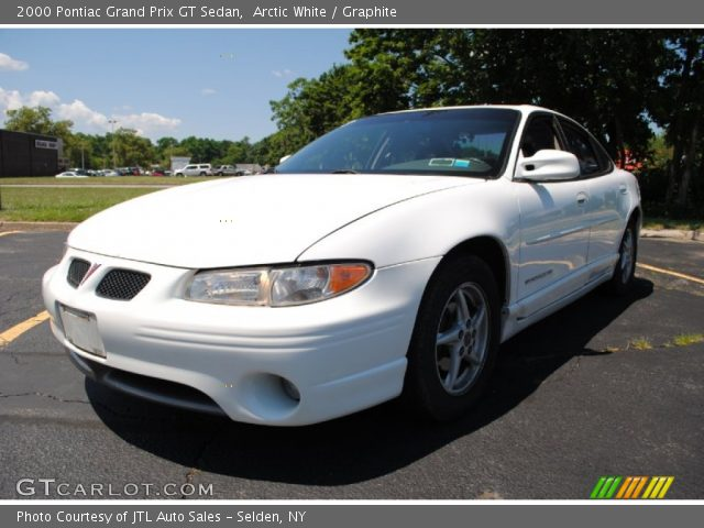 arctic white 2000 pontiac grand prix gt sedan graphite interior vehicle. Black Bedroom Furniture Sets. Home Design Ideas