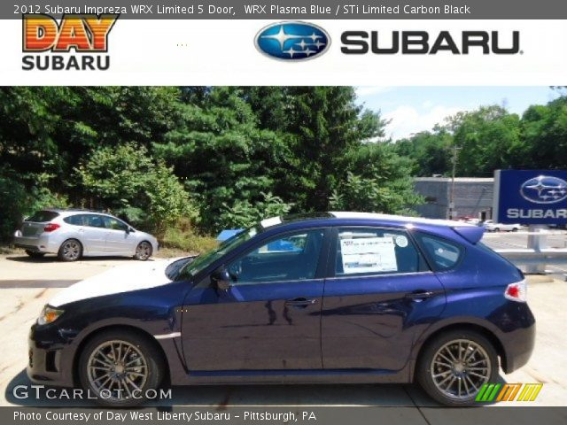 2012 Subaru Impreza WRX Limited 5 Door in WRX Plasma Blue