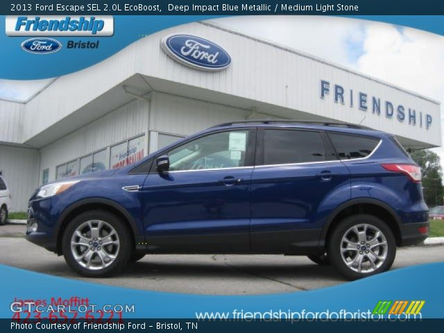 2013 Ford Escape SEL 2.0L EcoBoost in Deep Impact Blue Metallic