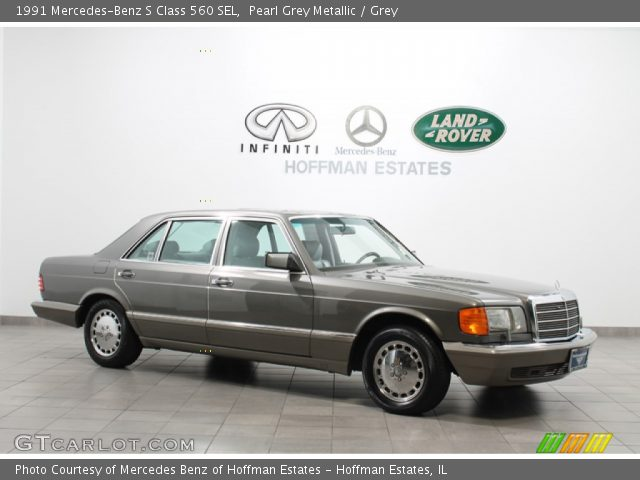 1991 Mercedes-Benz S Class 560 SEL in Pearl Grey Metallic