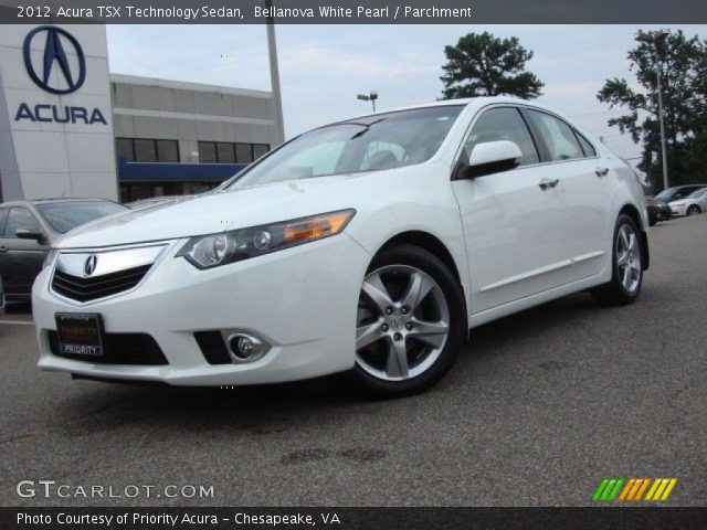bellanova white pearl 2012 acura tsx technology sedan. Black Bedroom Furniture Sets. Home Design Ideas
