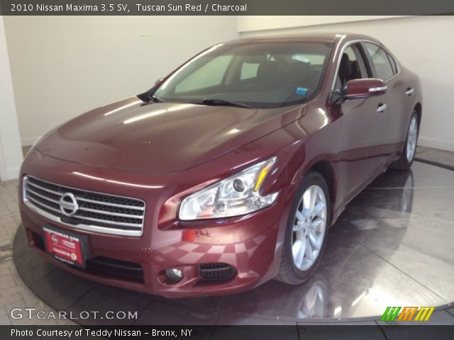 tuscan sun red 2010 nissan maxima 3 5 sv charcoal. Black Bedroom Furniture Sets. Home Design Ideas
