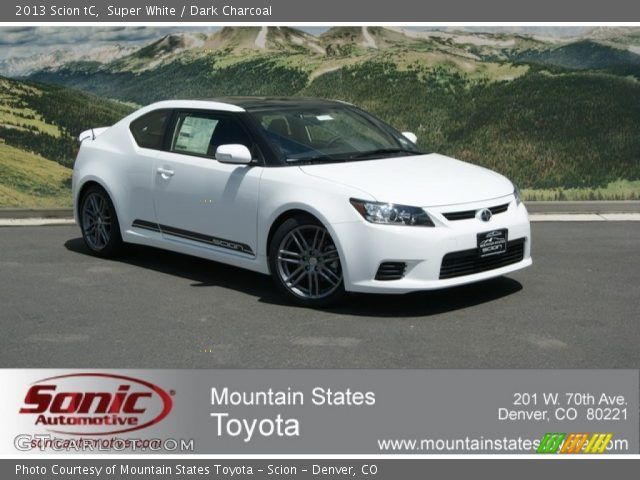 2013 Scion tC  in Super White