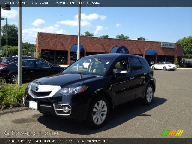 2010 Acura RDX SH-AWD in Crystal Black Pearl. Click to see large photo ...