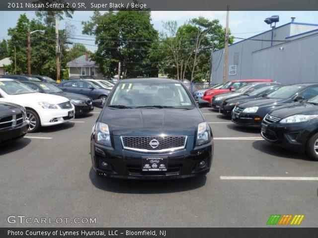 Super Black - 2011 Nissan Sentra 2.0 SR - Beige Interior | GTCarLot ...