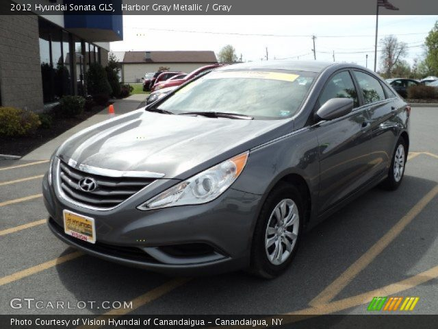 2012 hyundai sonata gls in harbor gray metallic click to see large. Black Bedroom Furniture Sets. Home Design Ideas