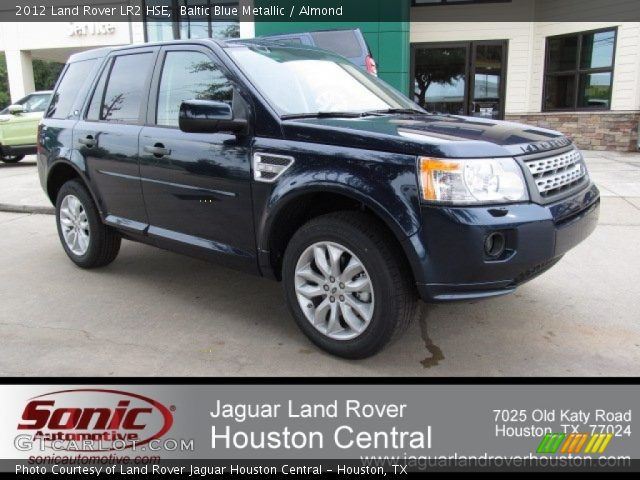 baltic blue metallic 2012 land rover lr2 hse almond interior vehicle. Black Bedroom Furniture Sets. Home Design Ideas