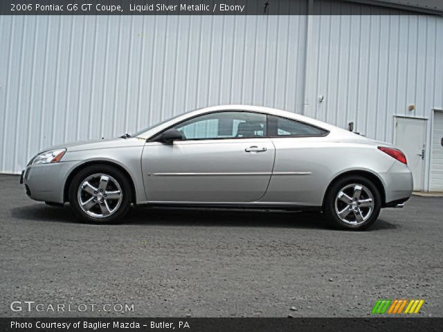 2006 pontiac g6 gt coupe in liquid silver metallic click to see large. Black Bedroom Furniture Sets. Home Design Ideas