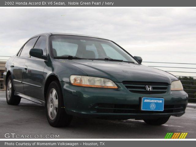 2002 Honda Accord EX V6 Sedan in Noble Green Pearl