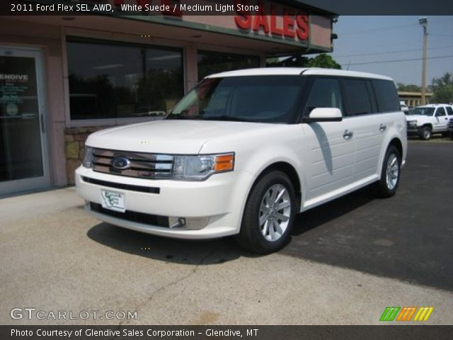 white suede 2011 ford flex sel awd medium light stone. Black Bedroom Furniture Sets. Home Design Ideas