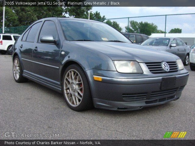 platinum grey metallic 2005 volkswagen jetta gli sedan. Black Bedroom Furniture Sets. Home Design Ideas