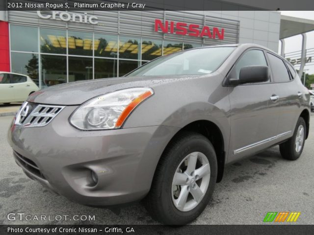Platinum graphite 2012 nissan rogue s gray interior - 2012 nissan rogue exterior colors ...