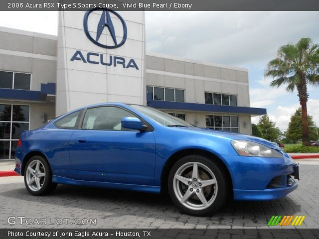 vivid blue pearl 2006 acura rsx type s sports coupe. Black Bedroom Furniture Sets. Home Design Ideas