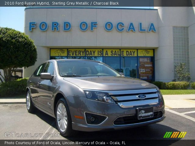 2010 Ford Fusion Hybrid in Sterling Grey Metallic