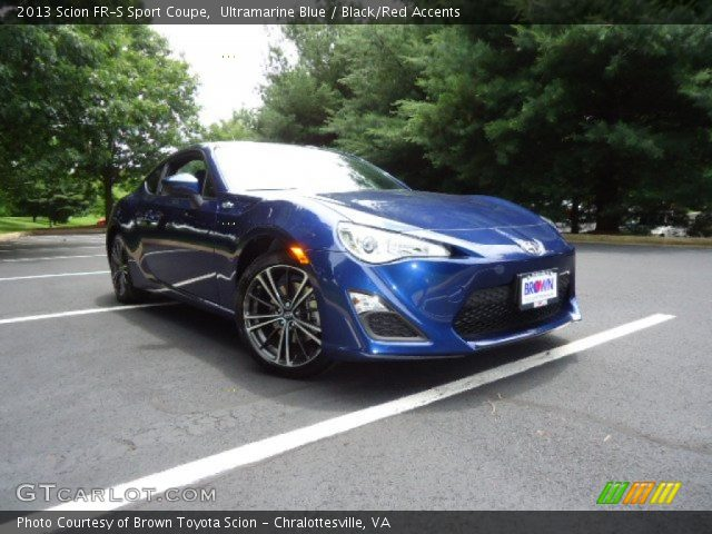 2013 Scion FR-S Sport Coupe in Ultramarine Blue