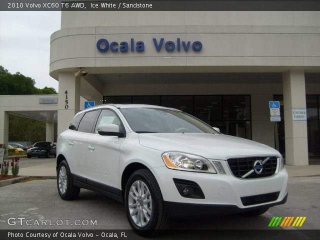 2010 Volvo XC60 T6 AWD in Ice White