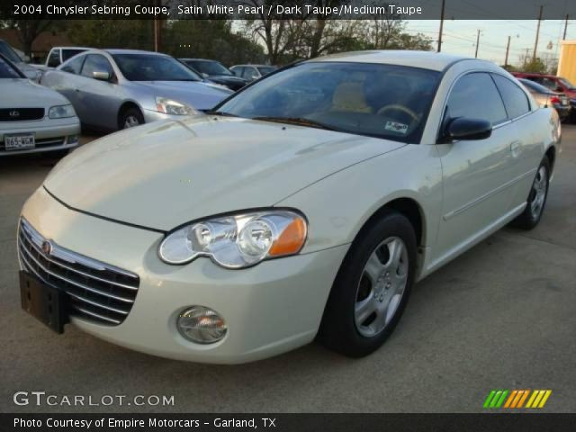 2004 Chrysler Sebring Coupe in Satin White Pearl. Click to see large ...