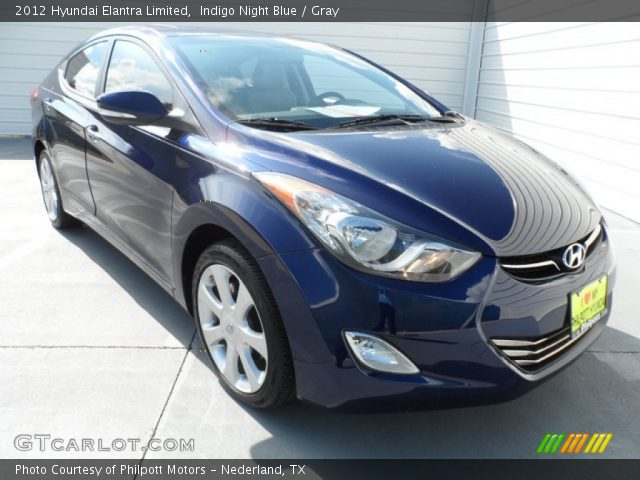 Indigo night blue 2012 hyundai elantra limited gray - 2012 hyundai elantra exterior colors ...