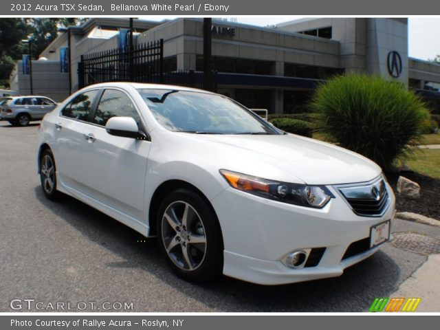 bellanova white pearl 2012 acura tsx sedan ebony. Black Bedroom Furniture Sets. Home Design Ideas