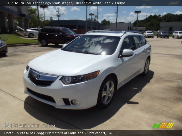 bellanova white pearl 2012 acura tsx technology sport. Black Bedroom Furniture Sets. Home Design Ideas