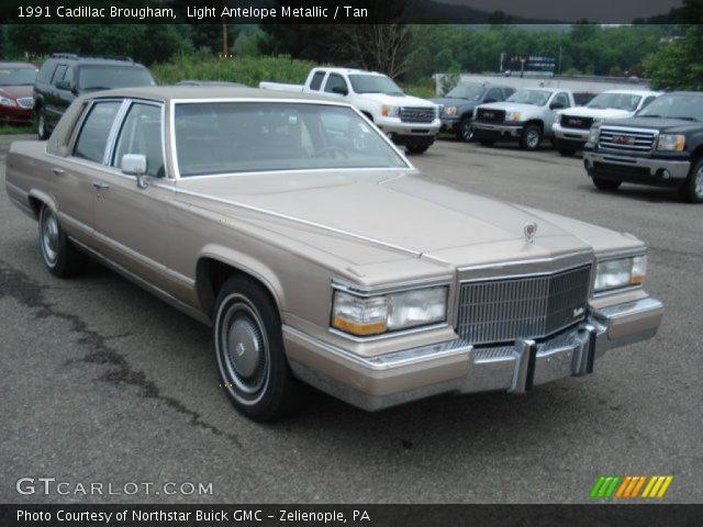 1991 Cadillac Brougham  in Light Antelope Metallic