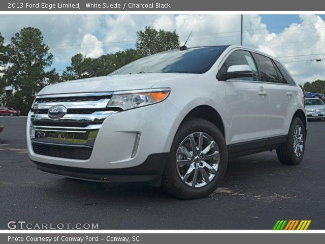 2013 Ford Edge Limited in White Suede