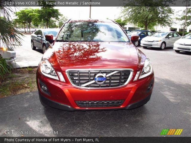 2010 Volvo XC60 3.2 in Maple Red Metallic