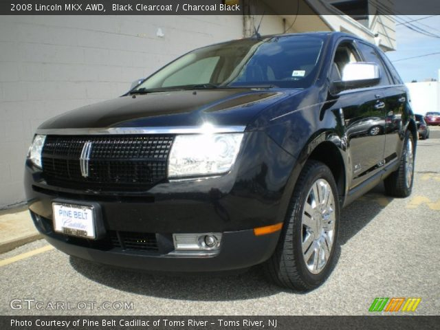 black clearcoat 2008 lincoln mkx awd charcoal black. Black Bedroom Furniture Sets. Home Design Ideas