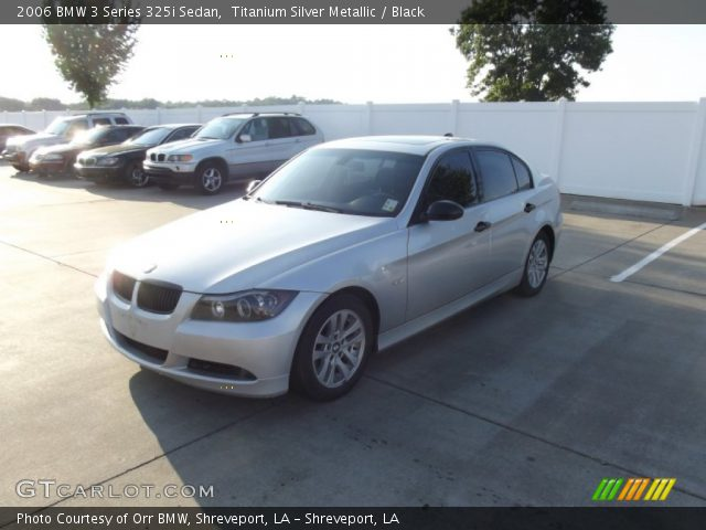 titanium silver metallic 2006 bmw 3 series 325i sedan. Black Bedroom Furniture Sets. Home Design Ideas